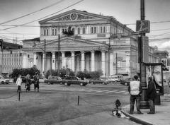 Teatro Bolshói, Moscú & cables