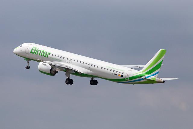 LIL - Embraer 195-E2 (EC-NFA) Binter Canarias