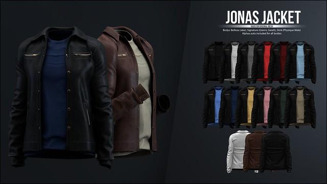 [Kauston] Jonas Jacket
