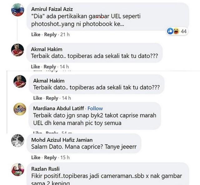 Netizen Persoal Mana Kelibat Caprice