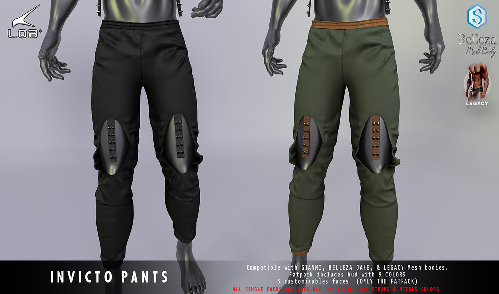 [LOB] INVICTO PANTS – AD