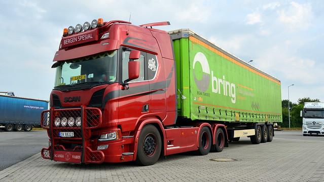 N - Scania R Next Gen V8 Highline - BERGEN SPESIAL TRANSPORT