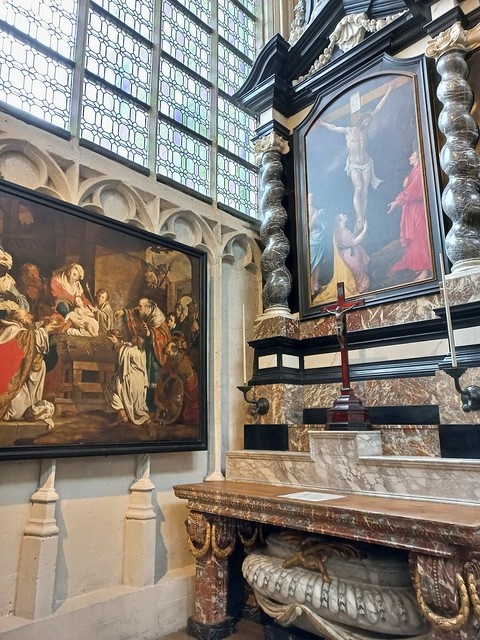 Masterpieces In The Saint Peter's Church In Leuven