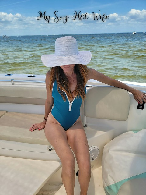 Relaxing On The Water In Wicked Weasel