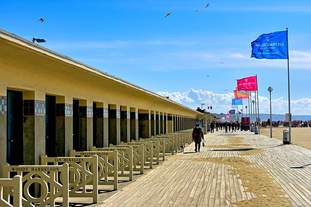 Deauville / Les Planches