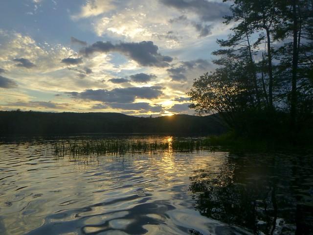 Glen Lake Sunset