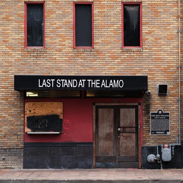 LAST STAND AT THE ALAMO - COVID WON