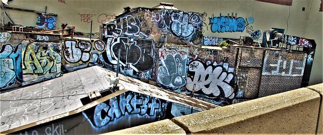 Throwback Pictures. Graffiti. Brooklyn. CAKE8 . DEK. RUSK. PEPO. ASP.
