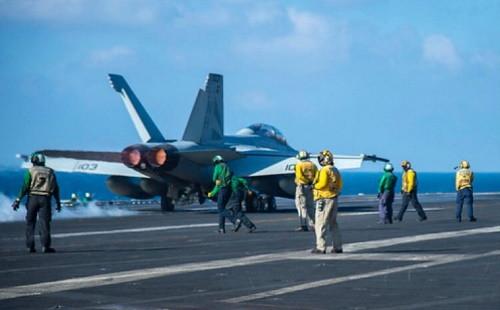 F/A-18F Super Hornet _uss Roosevelt