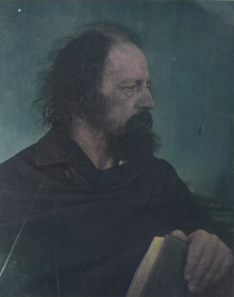 JULIA MARGARET CAMERON (1815-79) Alfred Tennyson (1809-1892) May 1865_colorSAI_result