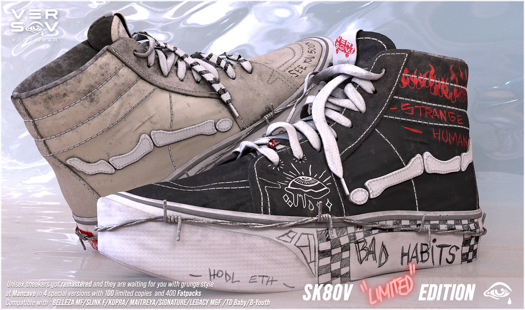 [ Versov // ] Sk8ov LIMITED EDITION available at MAN CAVE