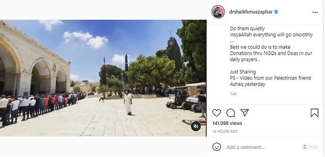 Ariz Dakwa Penduduk Gaza Tak Suka Ambil Gambar Orang Miskin, Ini Kata Dr. Sheikh Muszaphar