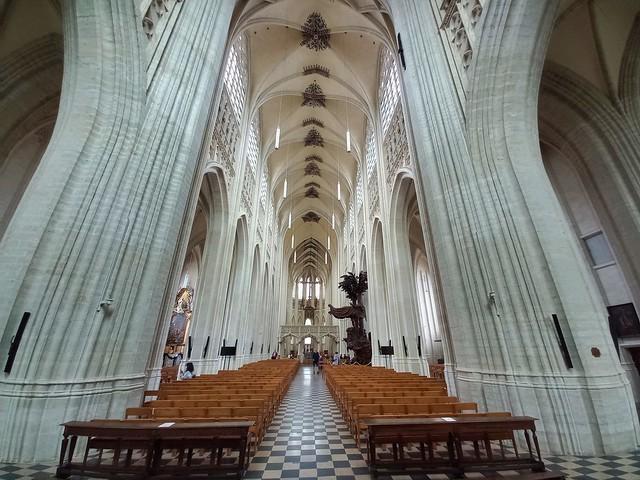 Masterpieces In The Saint Peter's Church In Leuven, Belgium