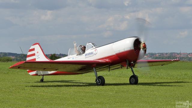Aerobatic team ANBO Yakovlev Yak-50 LY-AHR