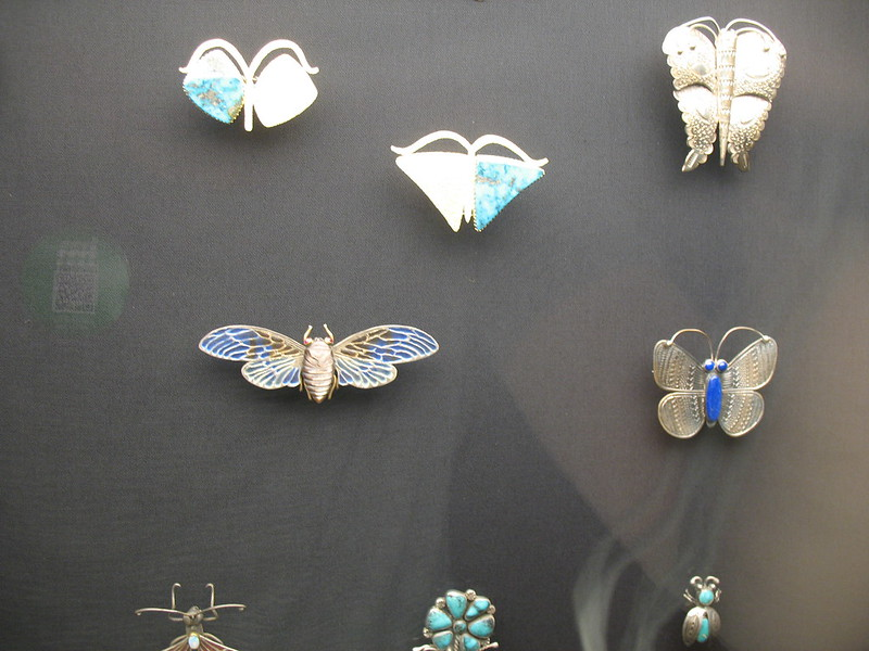Cicada and other pieces by Liz Wallace