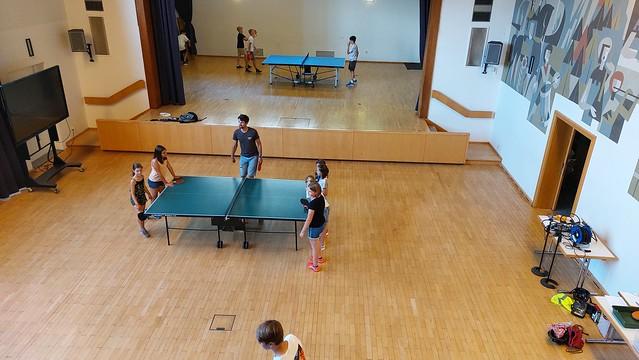 Abschlussevent Tischtennisturnier
