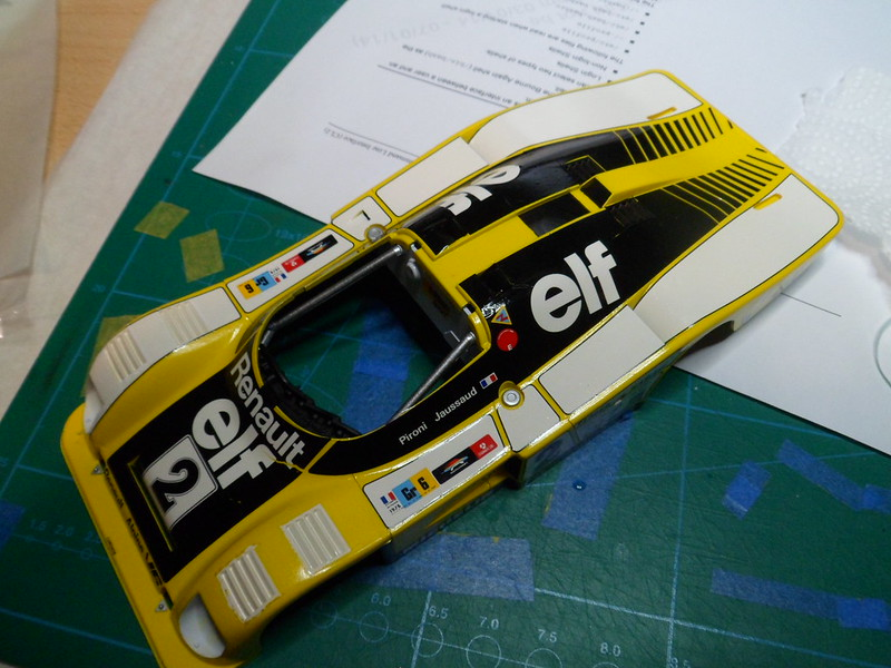 From the box - Alpine Renault A442B Turbo [Tamiya 1/24] *** Terminé en pg 7 - Page 5 51319845939_9132fec75c_c