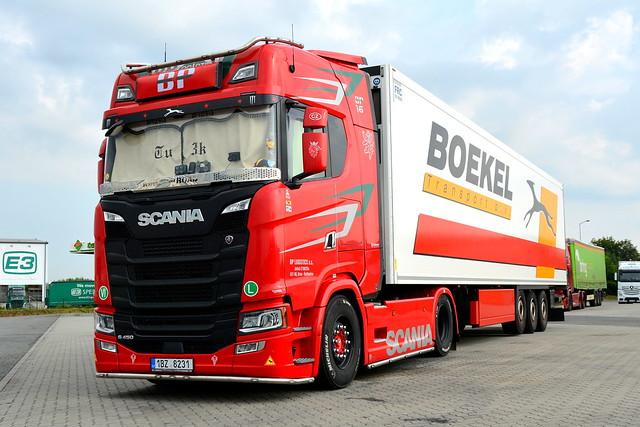 CZ - Scania S Next Gen Highline - BP LOGISTICS