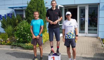 Vítěz dvoumílového běhu ve Zlíně Janečka se byl po závodě projet 50 kilometrů na kole