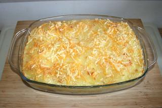 27 - Gyros coated with dumpling - Finished baking 2 / Gyros mit Kloßteighaube - Fertig gebacken 2