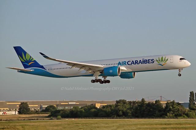 Air Caraibes F-HTOO Airbus A350-1041 cn/482 @ LFPO / ORY 18-07-2021
