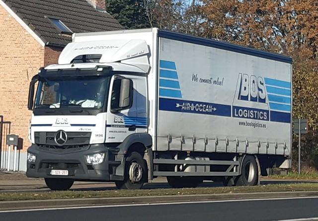 Mercedes-Benz Antos MP4 OM936LA.6-5 Bluetec6 2024 Short ClassicSpace L 4x2 (2017) - Bos Logistics Zaventem BVBA Steenokkerzeel, Provincie Vlaams-Brabant, Vlaanderen Gewest, België