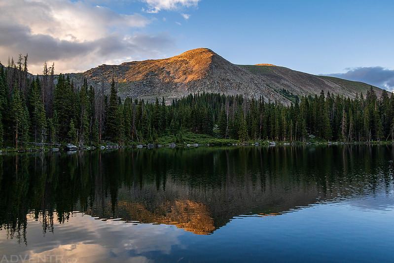 Broncho Mountain Reflection