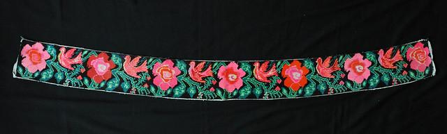 Maya Embroidery Mexico Chiapas Birds Flowers