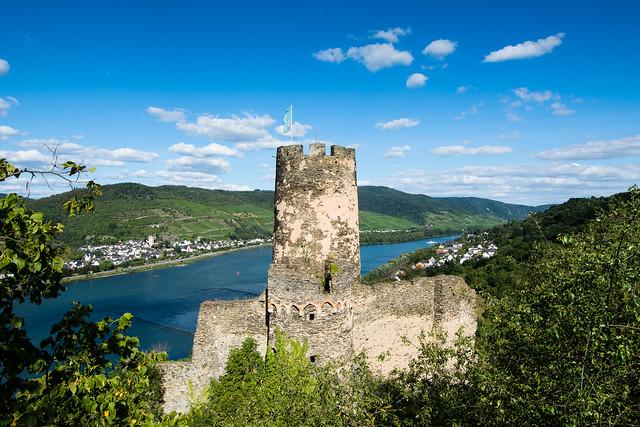 Burgruine Fürstenberg über Rheindiebach