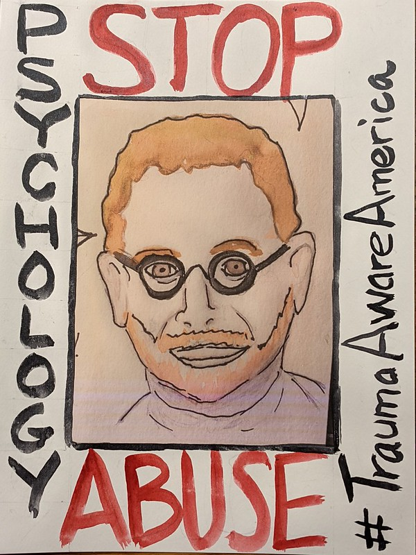 Stop Psychology Abuse poster