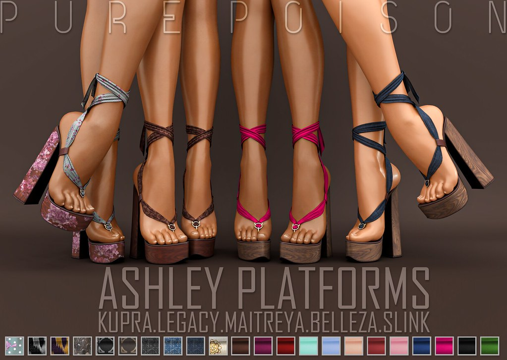 Pure Poison – Ashley Platforms – The Inithium Event