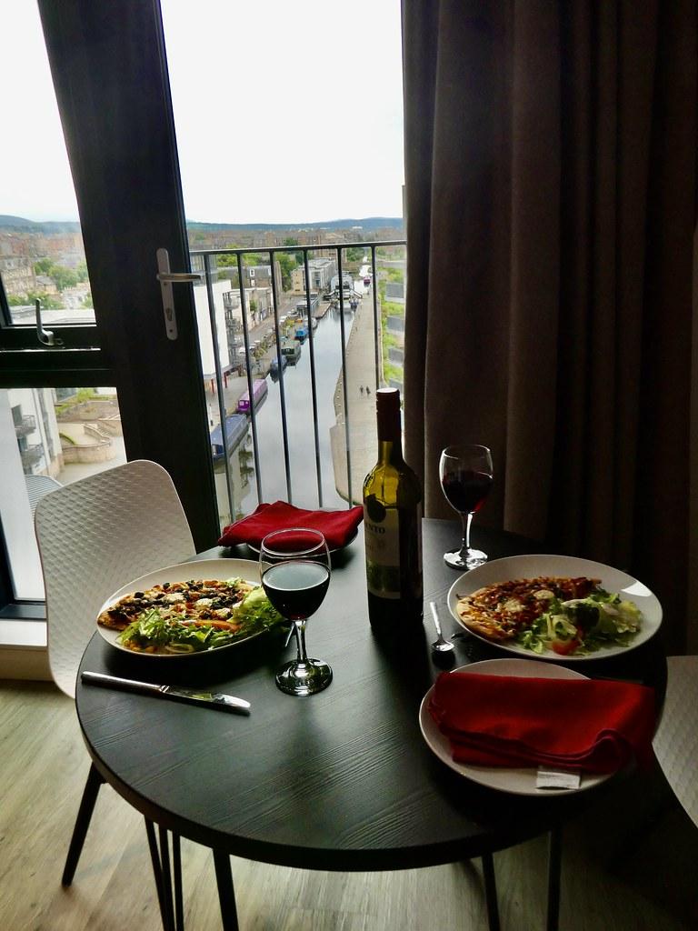 Altido Vita Edinburgh, dining in at the studio