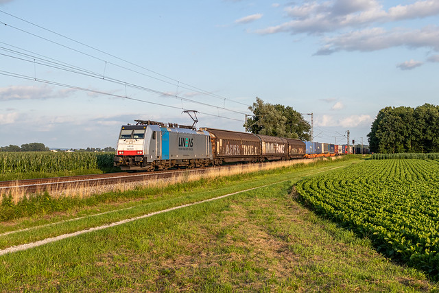Railpool/Lineas 186 503 Langenisarhofen