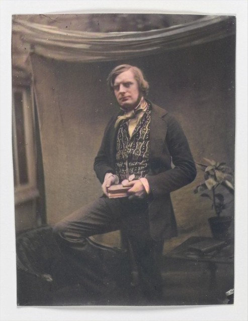 [Self-Portrait] February 1852 Roger Fenton British_colorSAI_result