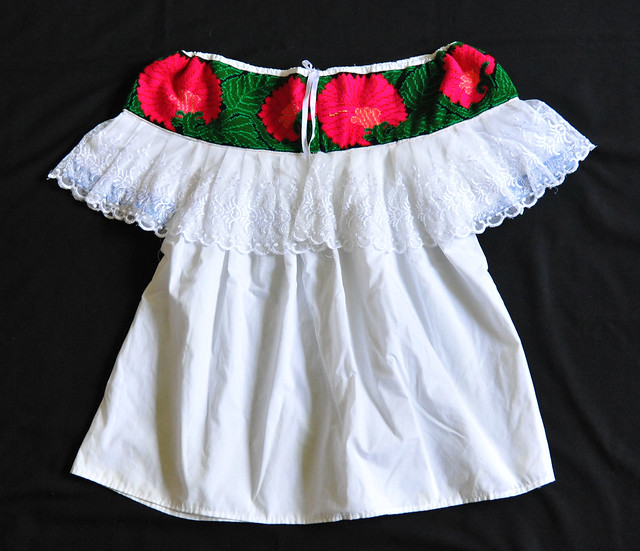 Maya Blusa Blouse Chiapas Mexico Clothing