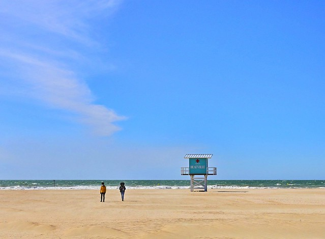 Deauville / The beach all to themselves