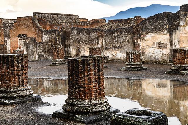 Pompei, gli scavi