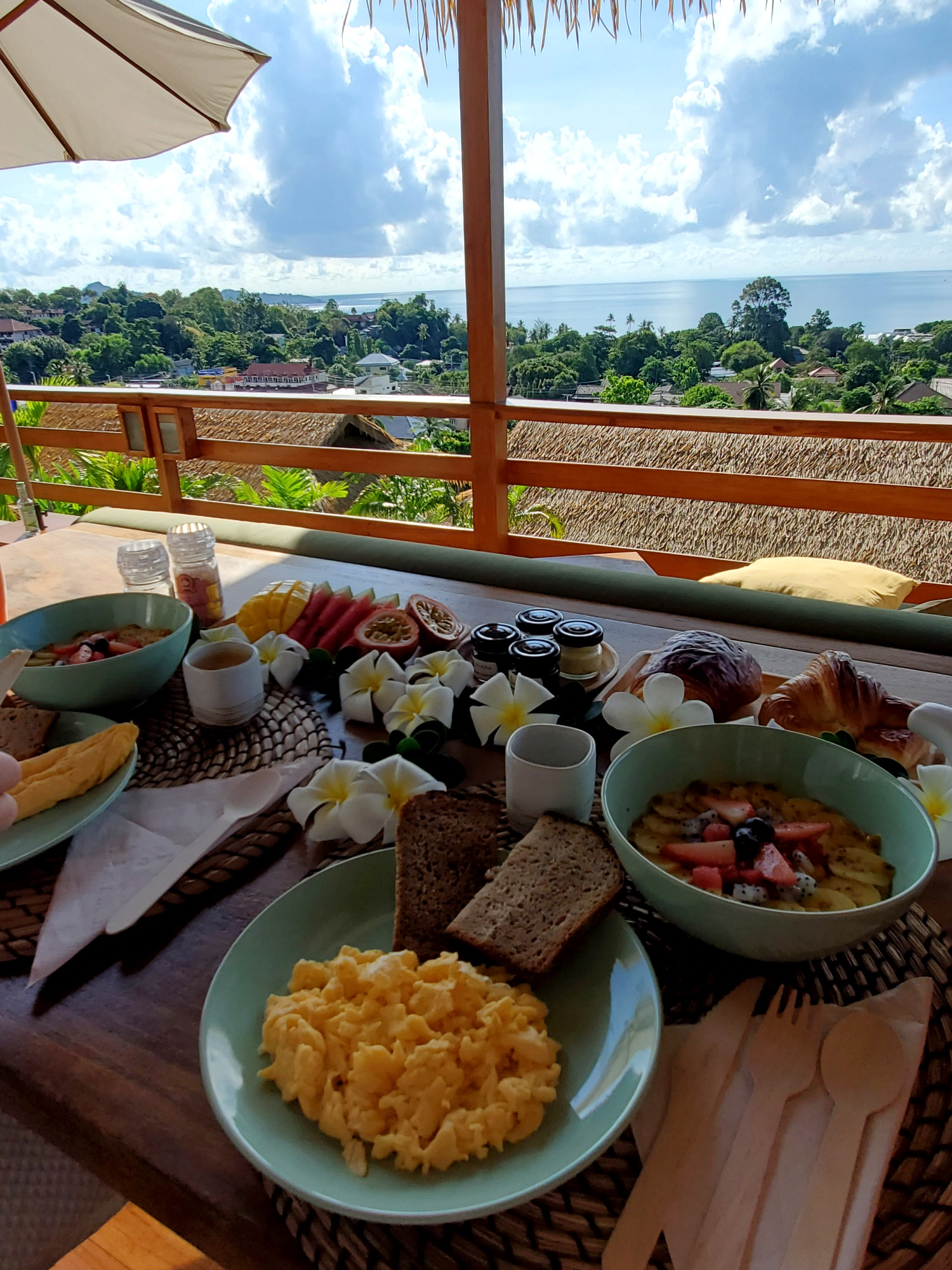 Wild Cottages Luxury and Natural breakfast