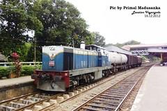 W3 666 on Mixed train at Veyangoda in 16.12.2012
