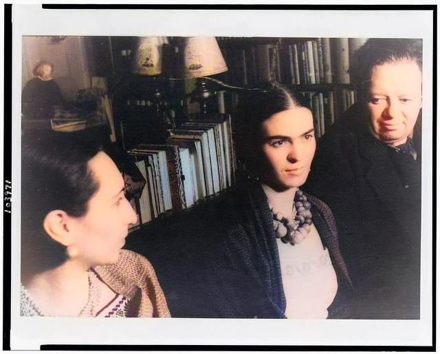 [Portrait of Diego Rivera and Malu Block and Frida Kahlo de Rivera]_colorSAI_result