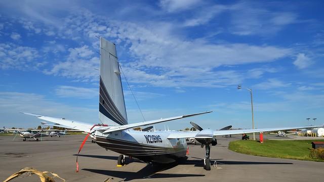 Rockwell Commander 695, N218MS - Brampton Airport, Caledon, Ontario