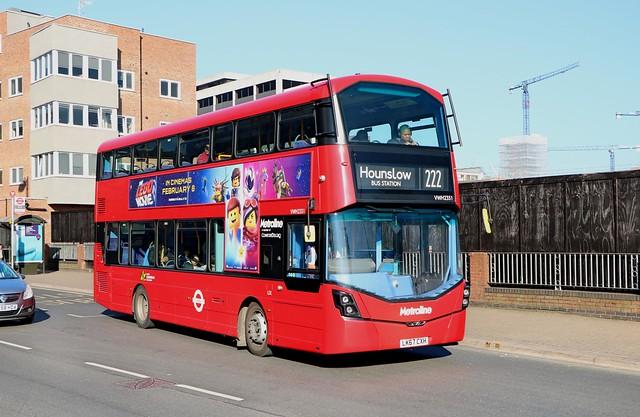 Metroline - VWH2351 - LK67CXH
