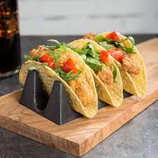 Tasty Tacos With Silly Chilly Hot Sauce