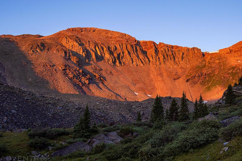 Fossil Mountain Sunrise