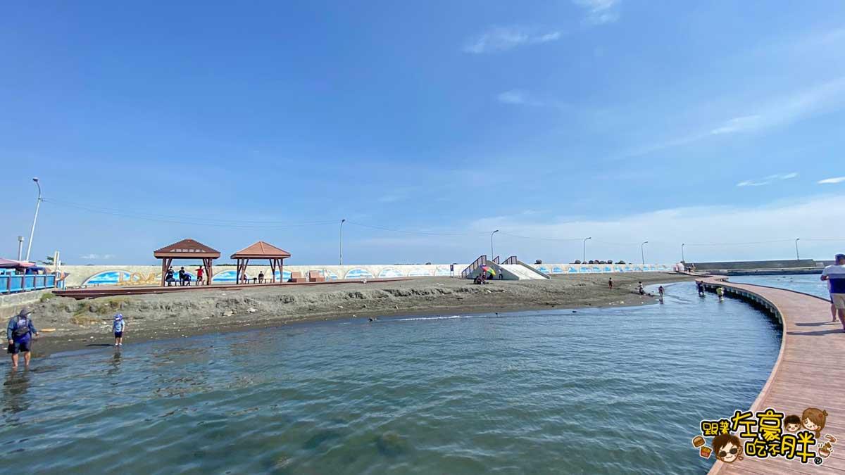 彌陀漁港海岸光廊 高雄親子旅遊 高雄景點推薦-67