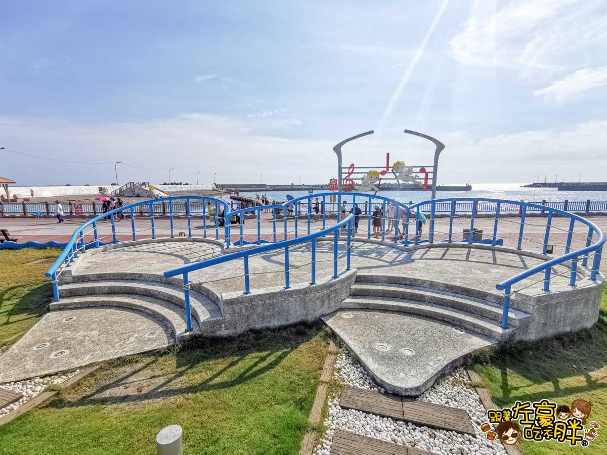 彌陀漁港海岸光廊 高雄親子旅遊 高雄景點推薦-36
