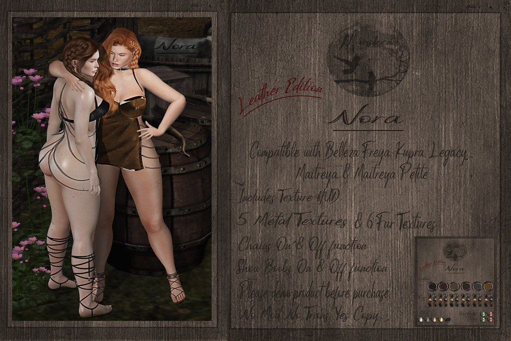 Dress Nora ~ Leather Edition ~