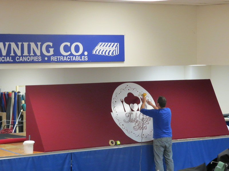 Graphics and Logos for Awnings- Hoffman Awning
