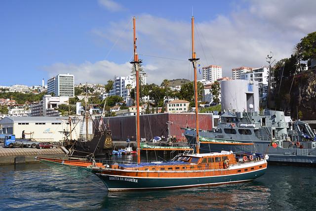 150705 Madeira 2015 - 01 Funchal Marina 1037 / FN-162-AL Bonito da Madeira PT 150705 Madeira 1004