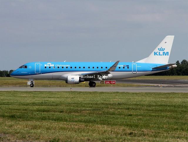 KLM Cityhopper                      Embraer E175                                      PH-EXW